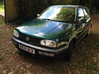 Green Golf GTI, in very good condition, with 62,000 genuine mileage.
