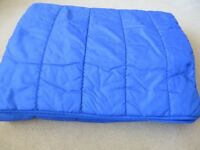 Sleeping Bag Double Size, Quilted.
