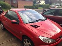 Cheap 2005 Peugeot 206cc convertible
