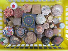 Pillboxes - 28 Assorted & Decorative