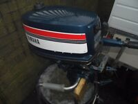 Yamaha Two Stroke 4 hp outboard