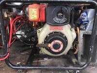 Yanmar diesel 12v generator engine driven charger 140a