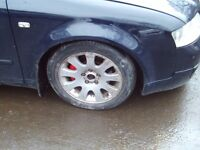 audi alloys with tyres