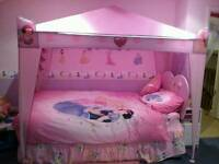 Disney Princess 4 poster canopy child's bedroom