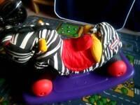 Little tikes zebra rocker