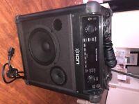 Ion Audio Block Rocker IPA76C Portable PA System with FM Radio & Bluetooth + NFC