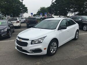 2016 Chevrolet Cruze WOW, ONE OWNER TRADE WITH LOW KM'S