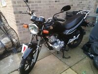 Sym XS 125 very low mileage 15 plate GREAT learner bike