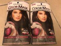 Dark Brown permanent colour mark Schwarzkopf hair dye