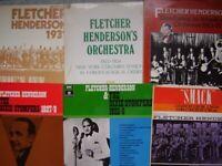6 Fletcher Henderson LPs