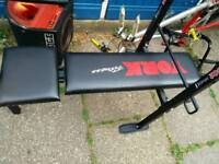 Weight bench with weights bundle