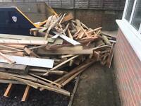 Free firewood. Talbot woods