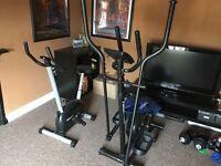 Elliptical Cross Trainer & Exercise Bike