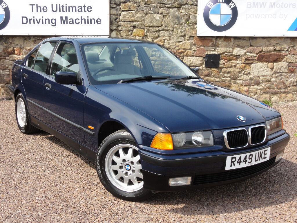 bmw e36 318i se saloon manual only 75k miles 1997 r reg mot 1 year lady owner since 2002. Black Bedroom Furniture Sets. Home Design Ideas