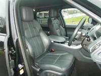 LAND ROVER RANGE ROVER SPORT 3.0 SDV6 HSE DYNAMIC 5d AUTO 288 BHP (black) 2014
