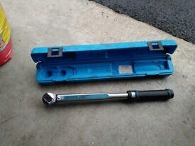 Sykes-Pickavant 800200 Motorq 200 Professional Torque Wrench 40-200Nm