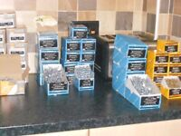 WHOLESALE JOBLOT WOOD SCREWS TIMBER FIX DECKING 130 BOXES BRAND NEW RRP £675