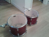 Acoustic CB drums (Good condition drum kit and cymbal stands)