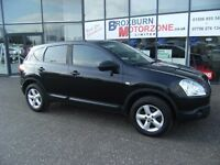2009 59 NISSAN QASHQAI 1.6 VISIA 5d 113 BHP FREE 12 MONTHS MOT **** GUARANTEED FINANCE ****