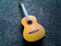 Classical guitar Yamaha G-50A with RokSak case