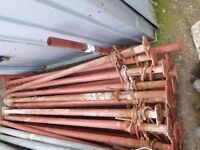 SIZE 2 ACROW PROPS 6.5'-11' / 2.0M-3.4M ACROW JACK PROP STEEL, DELIVERY LONDON
