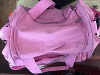 Pink hold-all bag £10