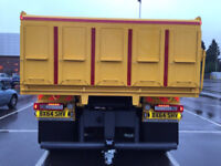 Tipper Tailgates made to measure 3.5T - 26T ( with tar / gravel chutes )