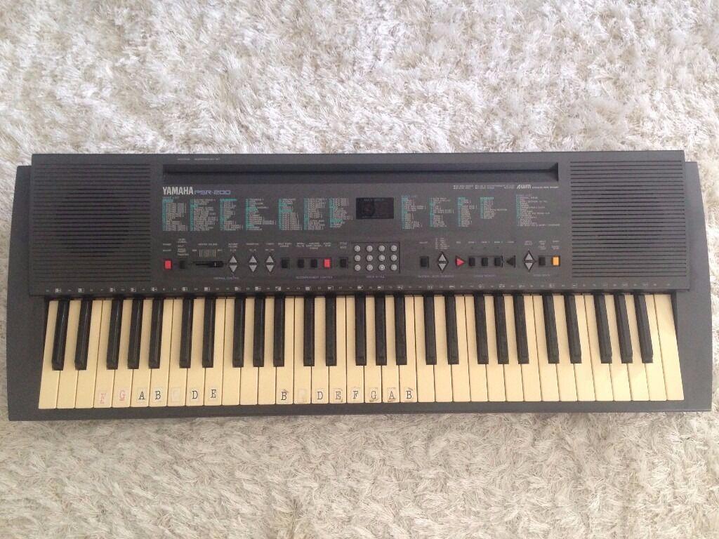 keyboard yamaha psr 200 with standin Lymington, HampshireGumtree - keyboard yamaha psr 200 with stand i have for sale used keyboard yamaha psr200 with stand