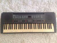 keyboard yamaha psr 200 with stand