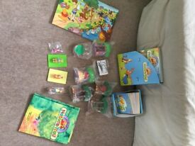 Winnie the Pooh Nature Trail magazines, books, playmat and accessories. Brand new