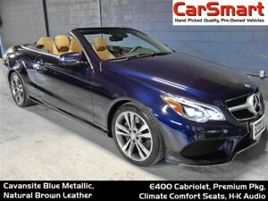 2016 Mercedes-Benz E-Class E400, Premium Pkg, Cooling/Heated Sea