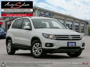 2015 Volkswagen Tiguan AWD 4MOTION ONLY 52K! **CLEAN CARPROOF...
