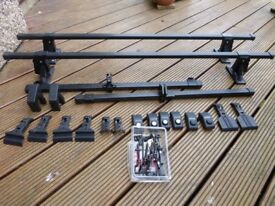 Thule Roof bars with 173 kit to fit Nissan Micra K11 (1993) 3 and 5 door model