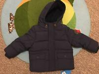 Baby Boys winter coat 18-24 mths BNWT