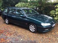 Peugeot 406 GLX Estate (7 seats) - 1 year MOT