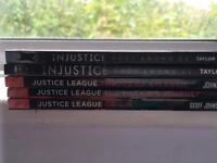Justice league and injustice