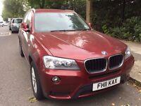 BMW X3 DIESEL 2.0 SE xDrive   NAV   FULL LEATHER   BEAUTIFUL CAR   CLEAN CAR ALL OVER   LONG MOT