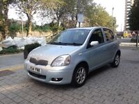 Toyota Yaris 1.3 T spirit petrol manual 2004