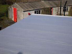 FLAT ROOFS NI liquid waterproofing roofing. Repairs leaks on felt, concrete. garages and balconies