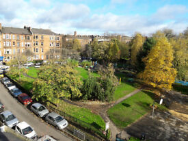 Hyndland, double room in quiet flat, Glasgow's west end