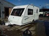 Compass Corona Club Touring Caravan & FREE Starter Pack