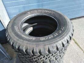 Maxxis Mudder tyres