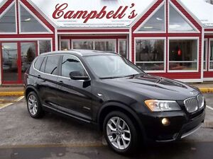 2013 BMW X3 xDrive28i AWD!! PREMIUM!! PANORAMIC ROOF!! HEATED