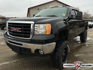 2008 GMC SIERRA 2500HD SLE 7.5 inch R/C LIFT WHEEL/TIRE PACKAGE!