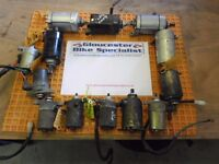 STARTER MOTORS off VARIOUS CHINESE SCOOTERS & MOTORBIKES