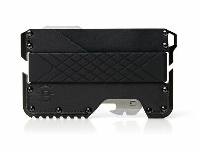 Dango T01 Tactical EDC Wallet - Made in USA Genuine Leather Multitool RFID Block