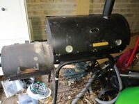 Offset Charcoal BBQ (broil-master)