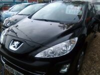 2009 Peugeot 307 1.4 petrol 75.000 miles full MOT very tidy car inside and out