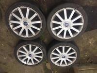 "Ford Fiesta,escort,focus,puma 17"" st wheels,£200,no offers"