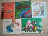 Swedish hardback children's book in Swedish / Svenska barnböcker